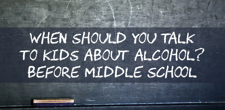 Talk to your kids about alcohol before middle school, doctors say