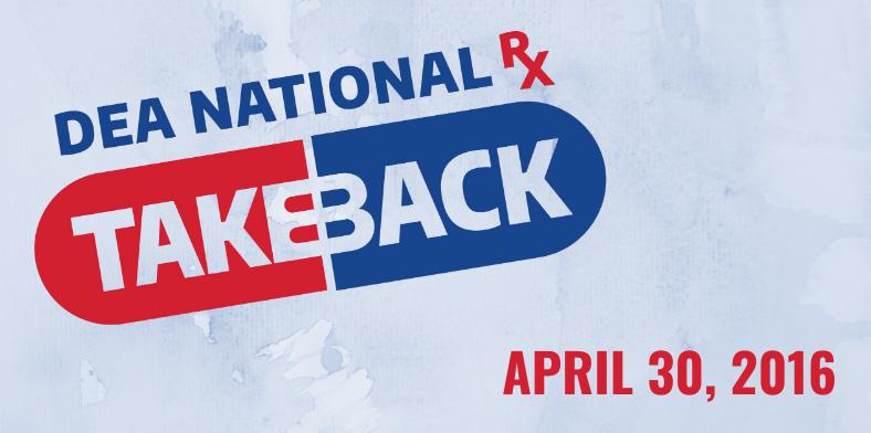 National Drug Take Back Day April 2016