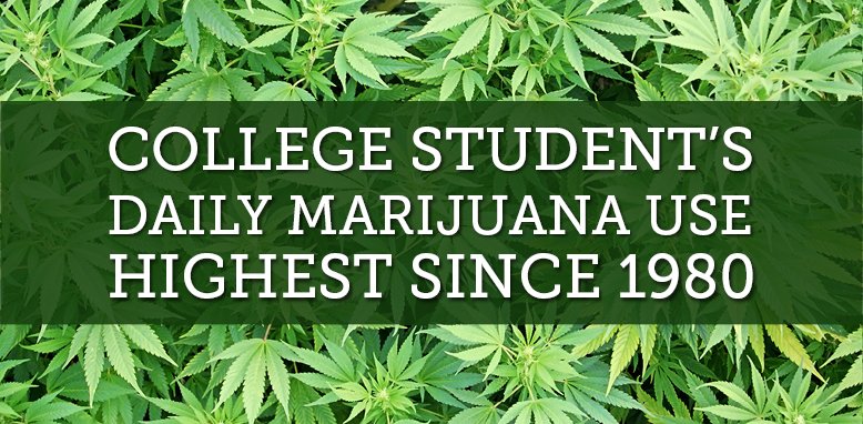 daily marijuana use in college students doubled