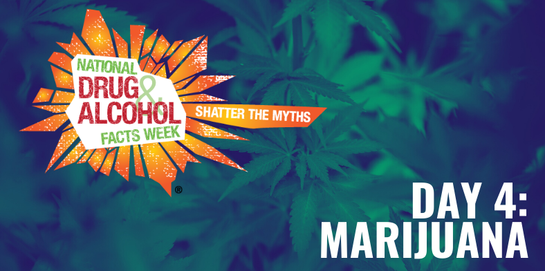 National Drugs and Alcohol Facts Week Marijuana