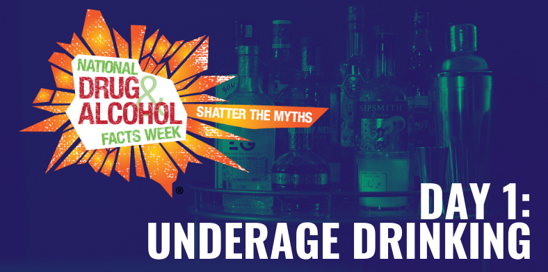 National Drugs And Alcohol Facts Week Underage Drinking